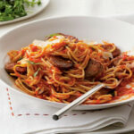 Spaghetti With Sausage And Simple Tomato Sauce – Dinner …