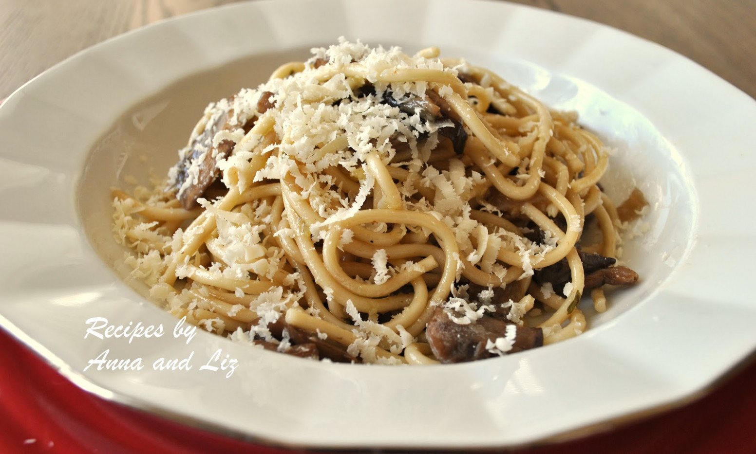 Spaghetti with Wild Mushrooms, Cognac and Truffle Oil - 2 ...