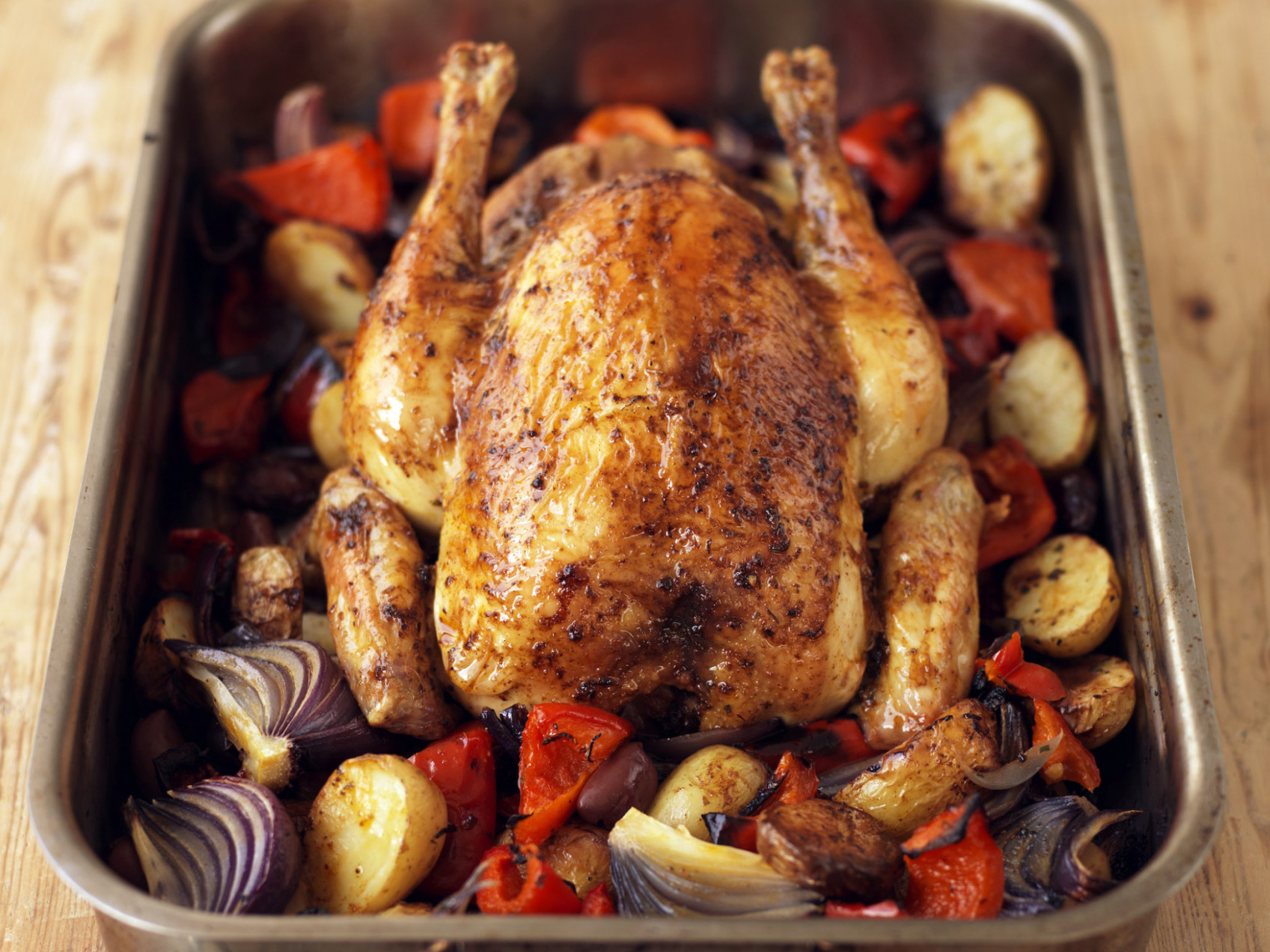 Spanish-Style Roast Chicken Recipe - Food Republic