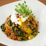 Spiced Red Lentils With Egg