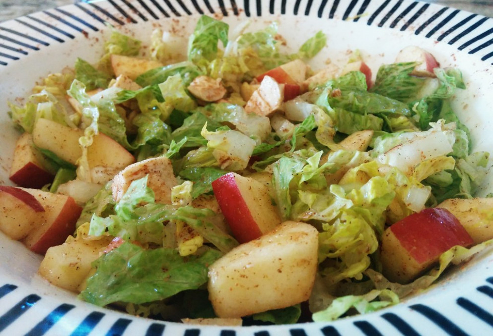Spicy Apple & Chicken Salad