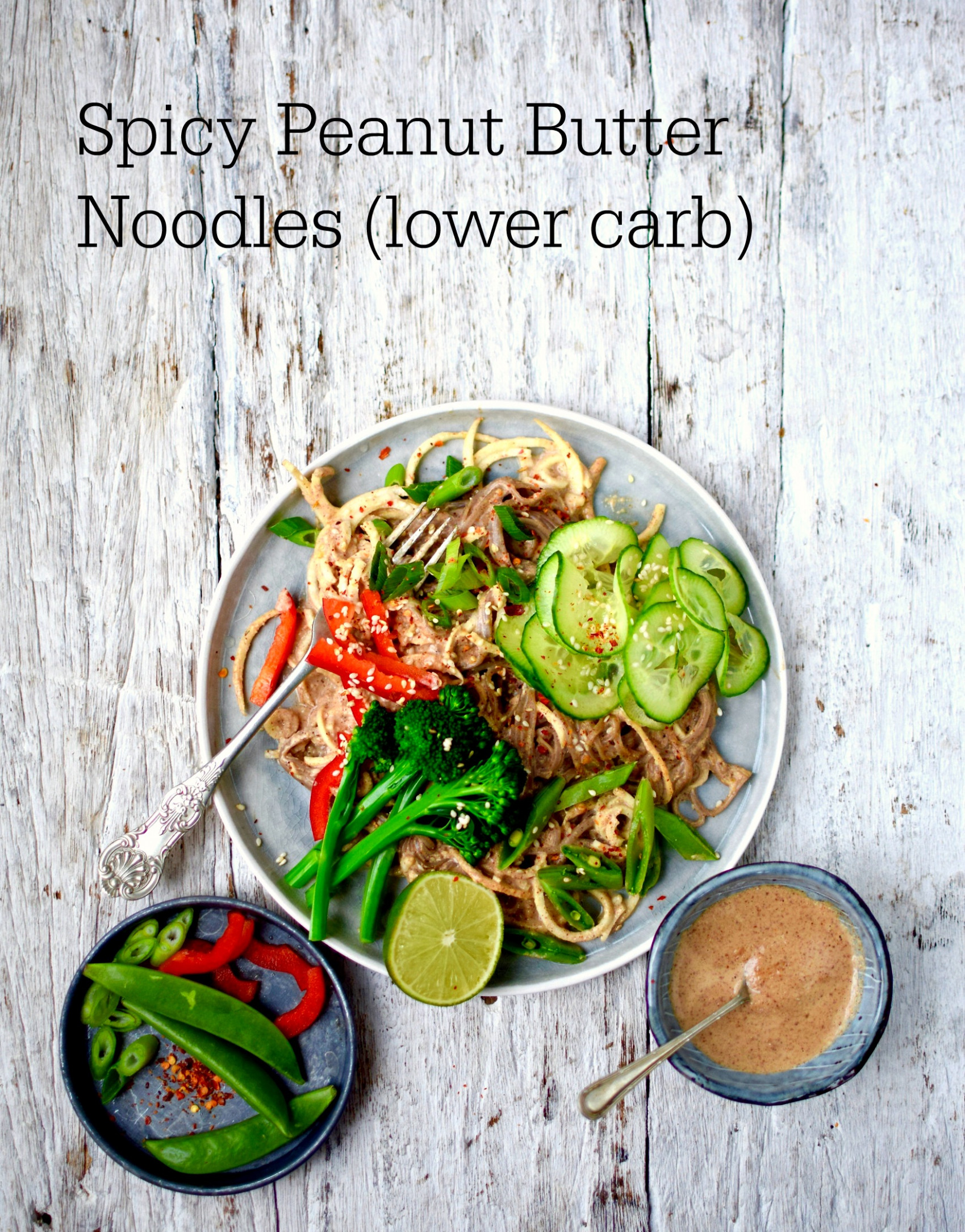 Spicy Asian Peanut Butter Noodles - a Healthy Chinese New ...