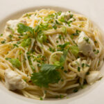 Spicy Crab Linguine With Mustard, Crème Fraîche And Herbs …