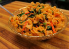 Spicy Egg Noodles with Chicken and Vegetables   noodles recipe