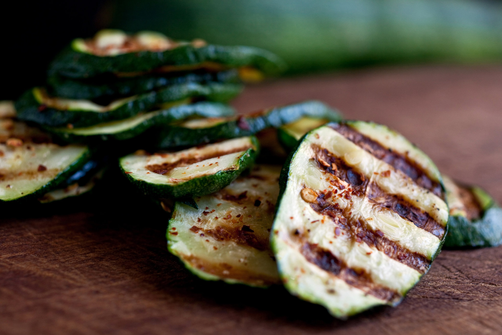 Spicy Grilled Zucchini Recipe - NYT Cooking