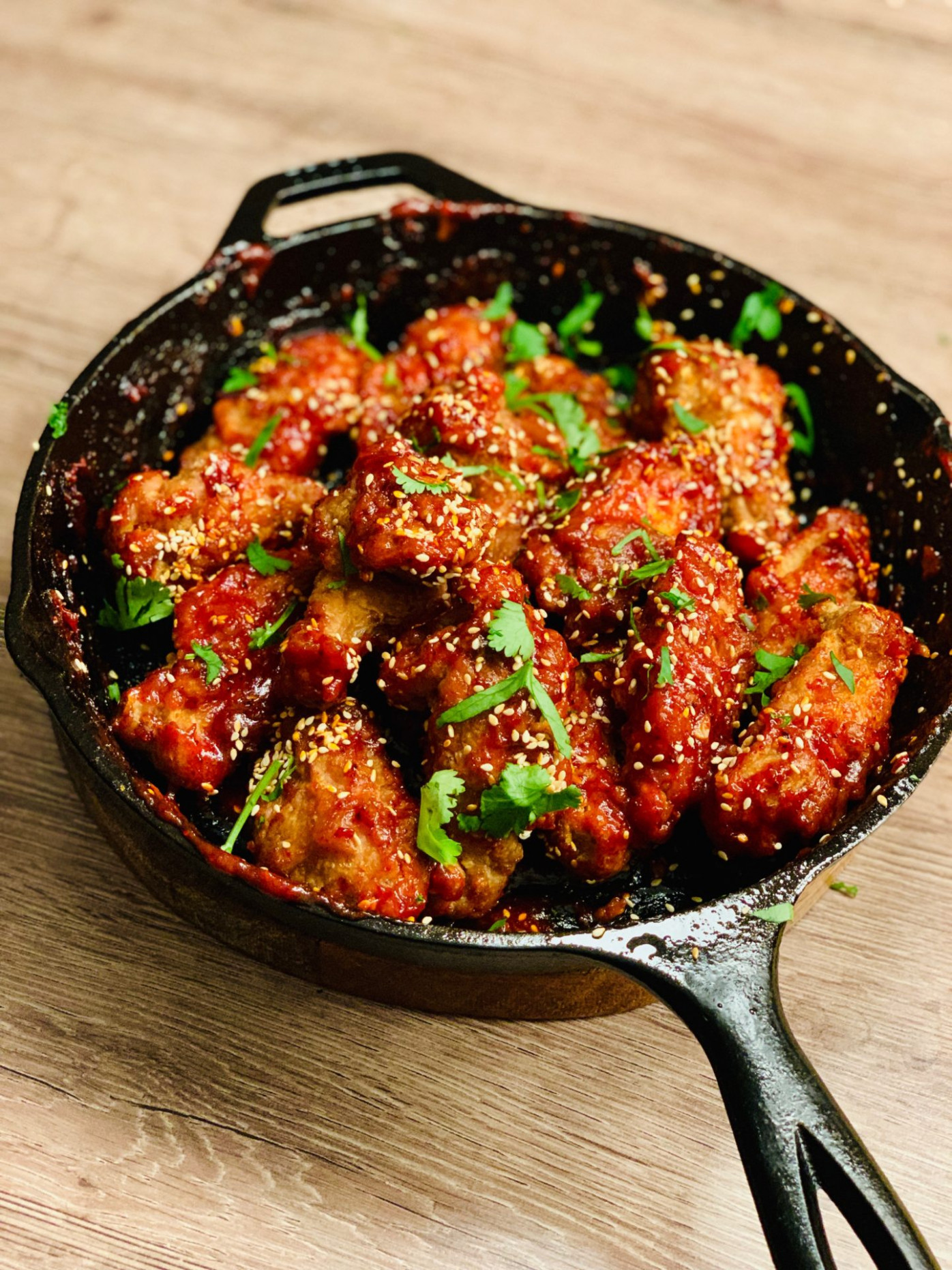 Spicy Korean Fried Chicken - Double Fry