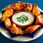 Spicy Middle Eastern Chicken Wings With Tahini Sauce Recipe