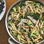 Spicy Penne Tossed With Chicken, Broccoli And Chopped …