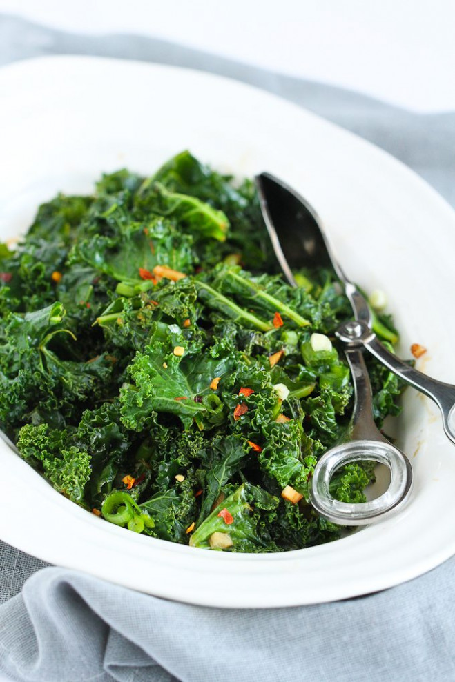 Spicy Sauteed Kale + 5 Other Healthy Kale Recipes