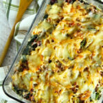 Spinach And Mushroom Wild Rice Casserole