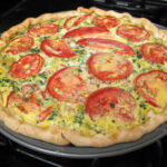 Spinach and Tomato Southwestern Style Quiche Recipe ...