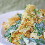 Spinach, Artichoke & Cream Cheese Casserole Recipe — Dishmaps