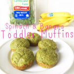 Spinach + Banana Healthy Breakfast Muffins Recipe For Toddlers