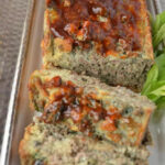 Spinach Mushroom Meat Loaf: Get The Kids To Eat Veggies