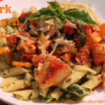 Spinach quark pasta with tomato sauce recipe - Dietitian ...
