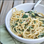 Spinach Ricotta Pasta – The Kids Cook Monday