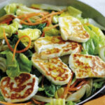 Spring Vegetables And Couscous With Halloumi Recipe …