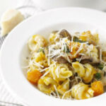 Squash, mushroom & sage pasta recipe | BBC Good Food