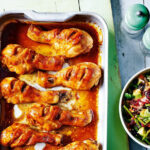 Sriracha Chicken With Beetroot, Avocado And Black Bean …