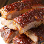 St. Louis Ribs with Maple BBQ Sauce | Flavorite