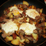 Steak And Eggs Skillet This Is Made With Leftover Steak …
