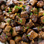 Steak Bites With Garlic Butter – Dinner At The Zoo