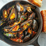 Steamed Mussels In Tomato Sauce Recipe | SimplyRecipes