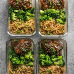 Sticky Ginger Soy Glazed Chicken Meal Prep - Recipes