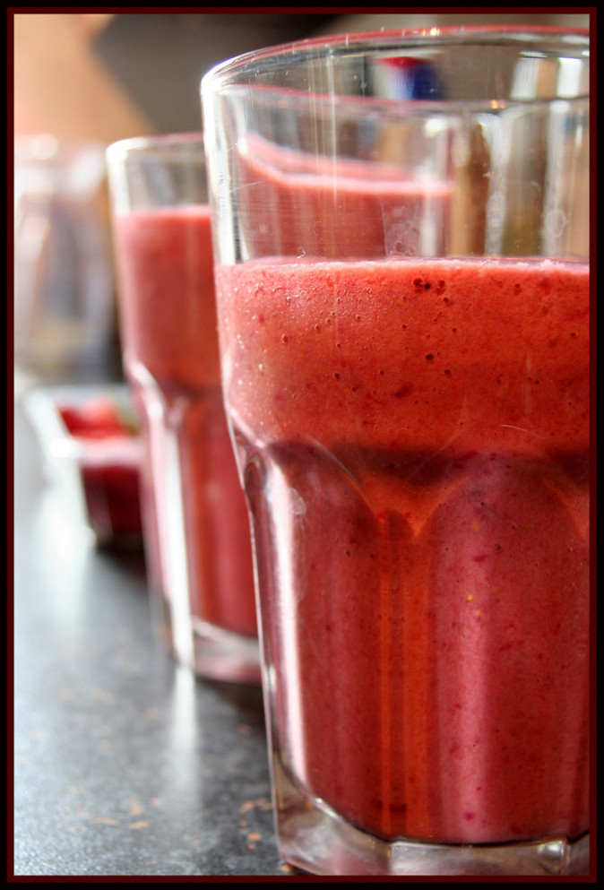 Strawberry & Blackberry Smoothie