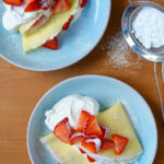 Strawberry Cream Cheese Crêpes | Just A Taste
