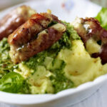 Stuffed Chicken And Parma Ham Rolls With Mash And Herb …
