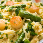 Sugar & Spice by Celeste: Creamy Orzo with Bay Scallops ...