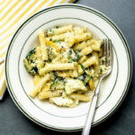 Summer Pasta With Zucchini, Ricotta And Basil – MasterCook