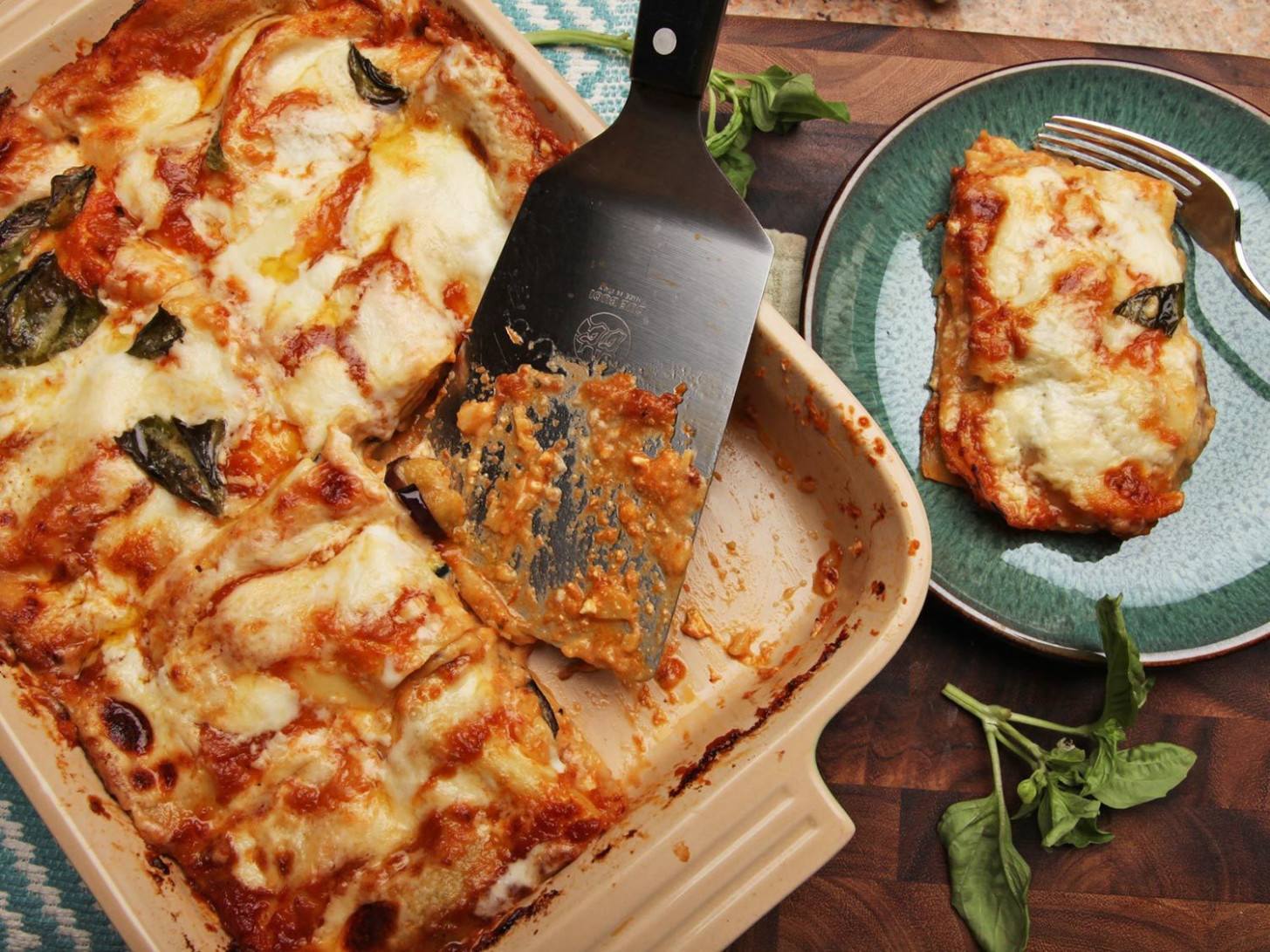 Summer Vegetable Lasagna With Zucchini, Squash, Eggplant ...