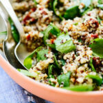 Sun Dried Tomato, Spinach And Quinoa Salad – Cookie And Kate