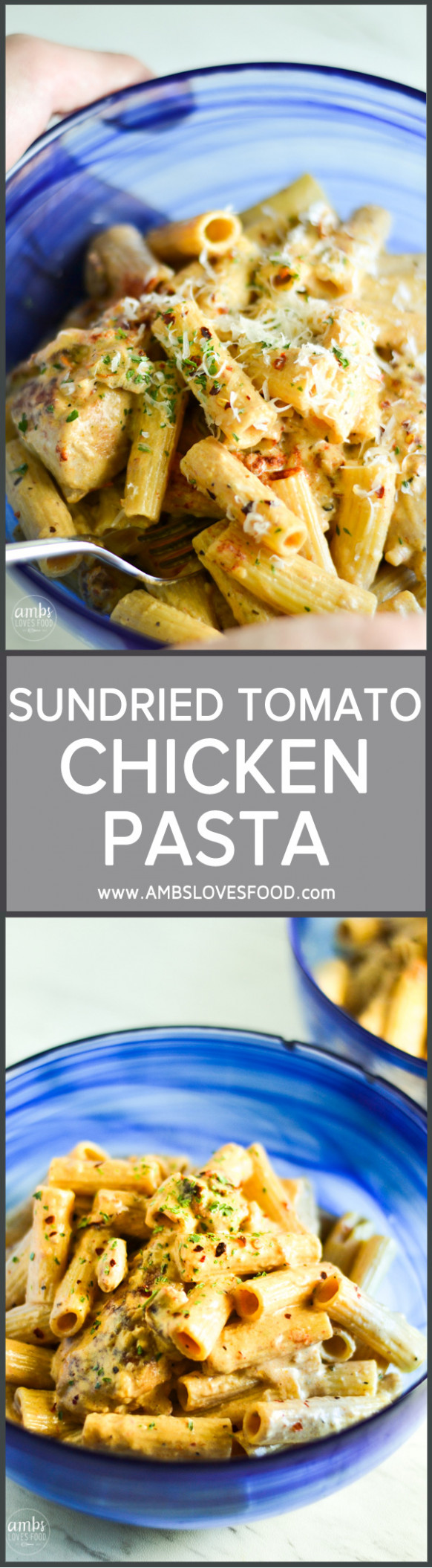 SUNDRIED TOMATO CHICKEN PASTA