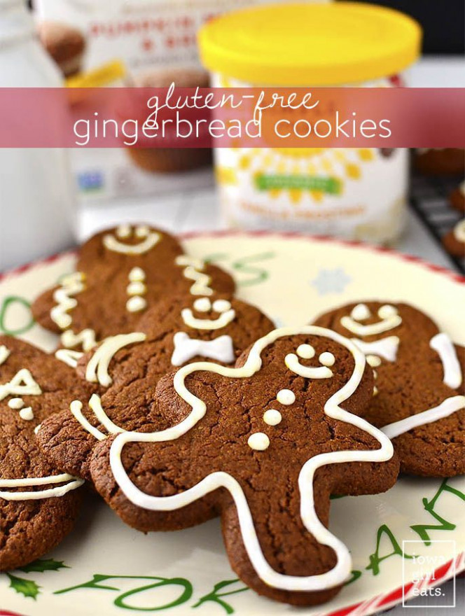 Super Easy Gingerbread Cookies | Recipe | Gluten Free ...