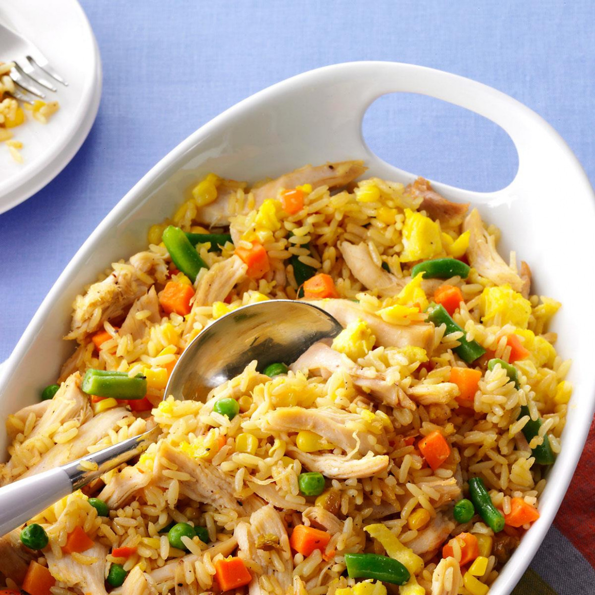 Super Quick Chicken Fried Rice Recipe | Taste of Home
