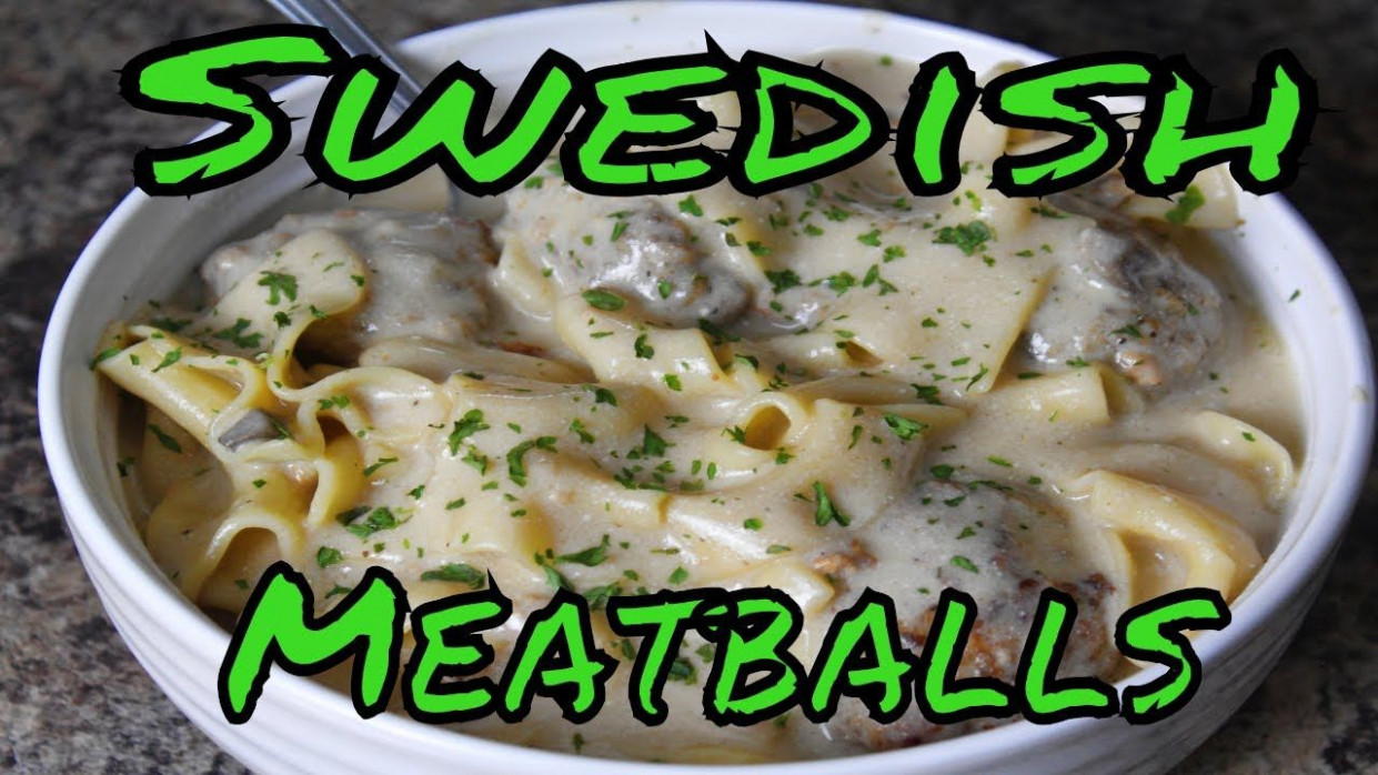 Swedish Meatballs in (Power Pressure Cooker XL) | YouTube ...