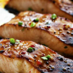 Sweet Chili Garlic Glazed Salmon | The Recipe Critic