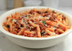 Sweet Sausage and Eggplant Penne Recipe | Rachael Ray ...
