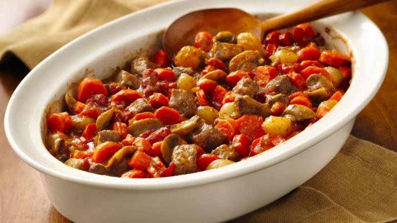 Swiss Steak Casserole Recipe - BettyCrocker