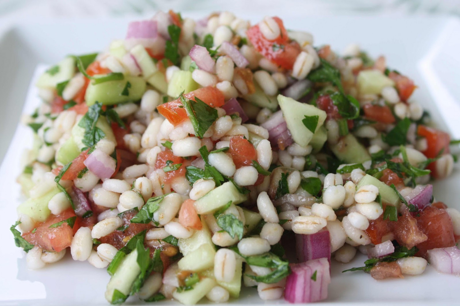 "Tabouleh"" Salad With Barley. This Is Super Cheap And Healthy …"