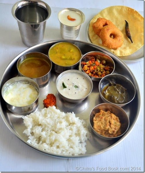 Tamilnadu Lunch Menu 1- South Indian Lunch Menu Ideas ...
