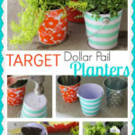 Target Dollar Pail Planters – Cooking With Ruthie