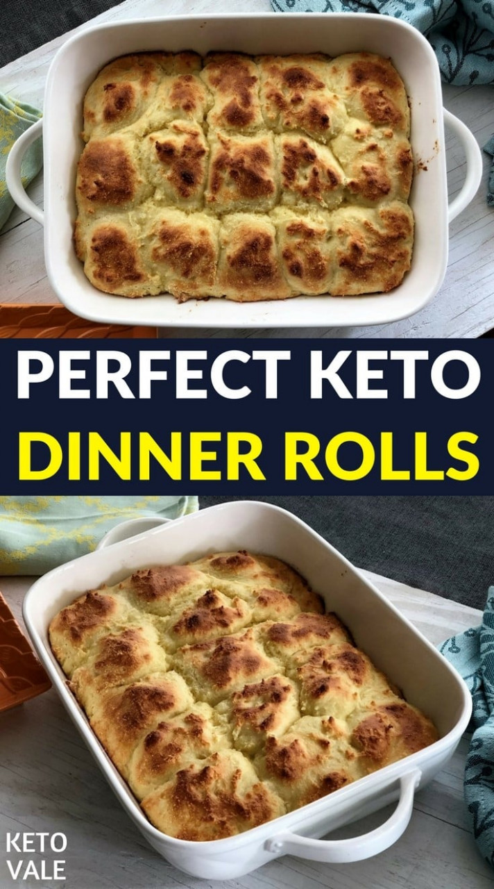 Tasty and Easy Keto Dinner Rolls Low Carb Gluten Free ...