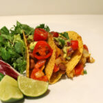 Tasty Tacos with Refried Beans and Guacamole