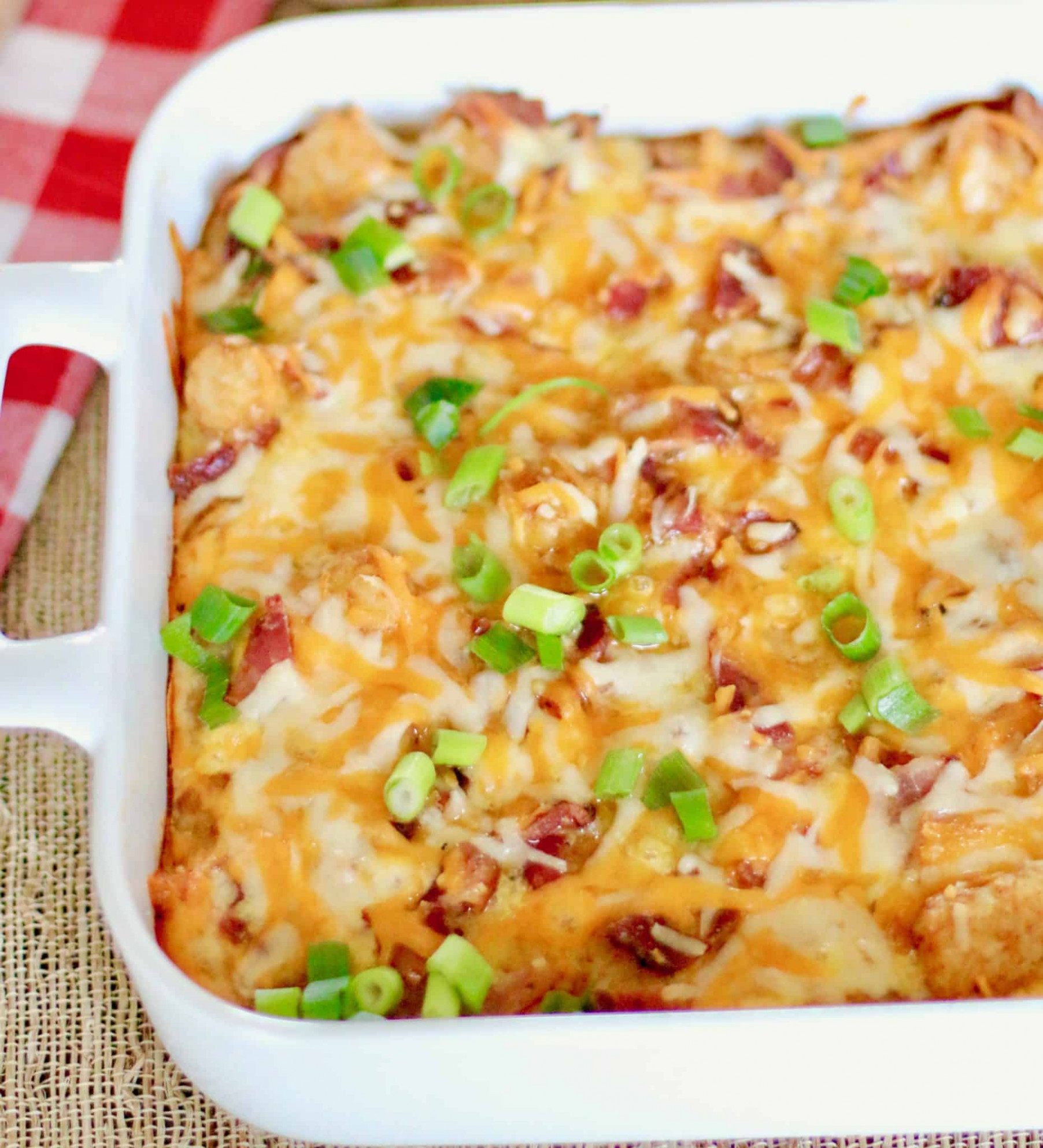 Tater Tot Breakfast Casserole | The Country Cook | breakfast