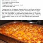Tator Tot Casserole I Also Added Mixed Veggies In With The …