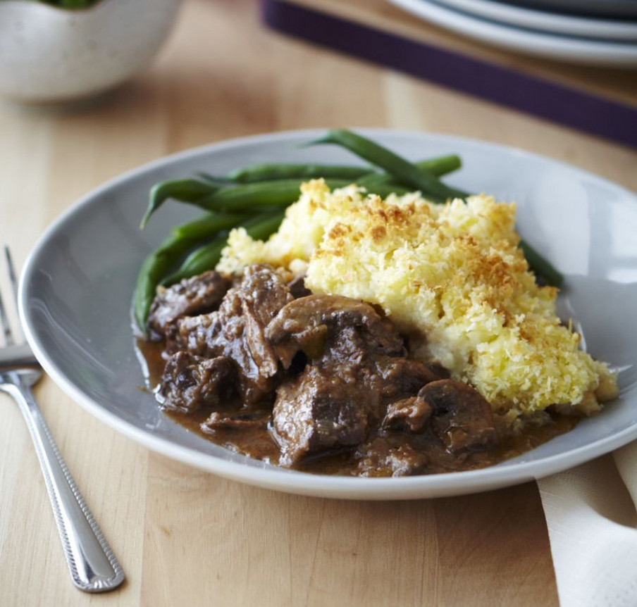Tender beef potato top crunch | FOOD: Main Dishes | Beef ...